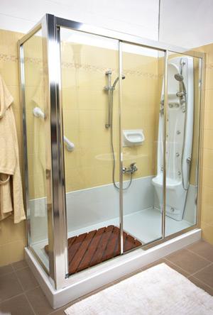 Trasformazione da vasca a doccia - Trasformare vasca da bagno in doccia ...